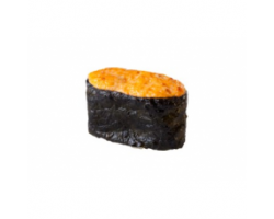 Запеченные суши с крабом